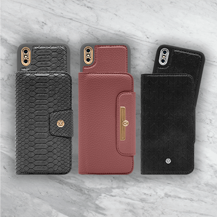 Magnetic Flip Case & Wallet